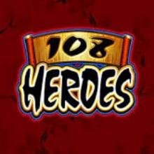 108 heroes logo logo