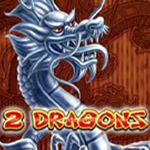 2 Dragons logo logo
