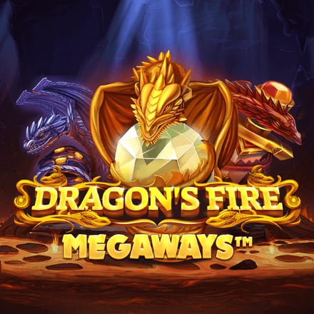Dragon's Fire Megaways logo logo