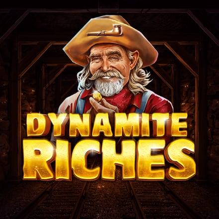 Dynamite Riches logo logo