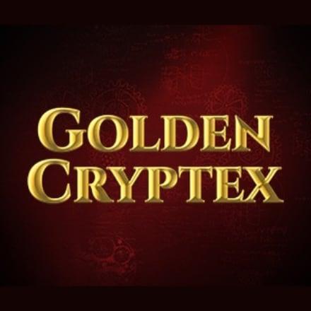 Golden Cryptex logo logo