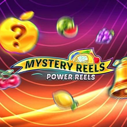 Mystery Reels Power Reels logo logo