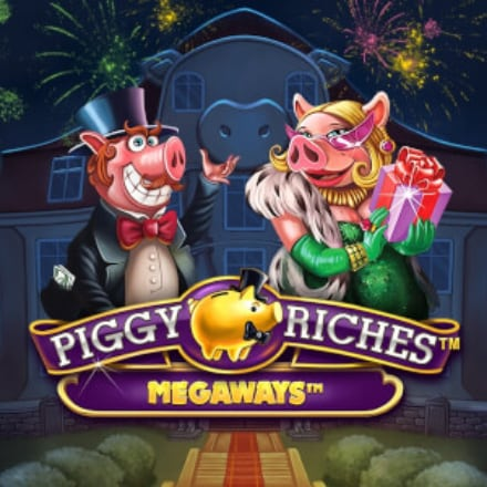 Piggy Riches Megaways logo logo