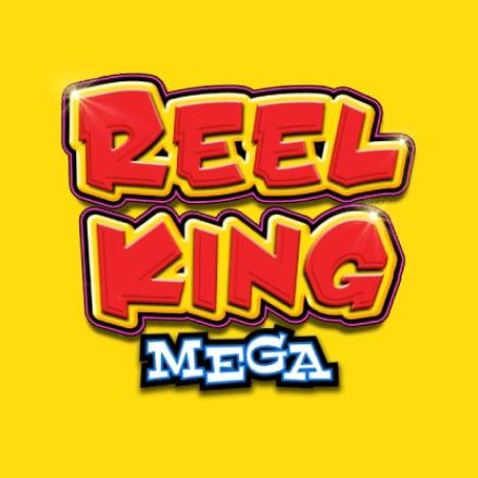 Reel King Mega logo logo