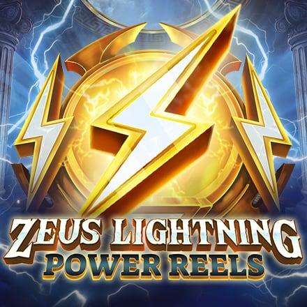 Zeus Lightning Power Reels logo logo
