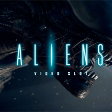 Aliens logo logo