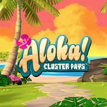 Aloha: Cluster Pays logo logo