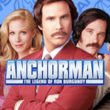Anchorman logo logo