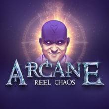 Arcane Reel Chaos logo logo