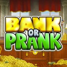 Bank or Prank logo logo