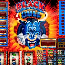 Black Bull logo logo