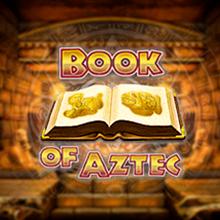 Book of Aztec logo logo