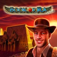 Book of Ra Deluxe spel logo logo