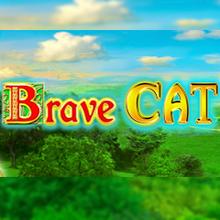 Brave Cat logo logo