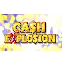 Cash Explosion logo logo
