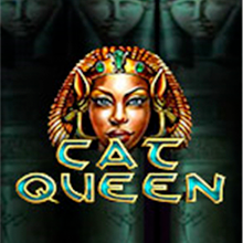 Cat Queen logo logo