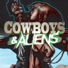Cowboys and Aliens logo logo