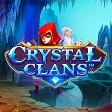 Crystal Clans logo logo