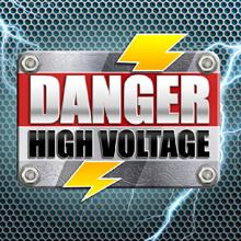 Danger high voltage logo logo
