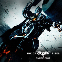 The Dark Knight Rises logo logo