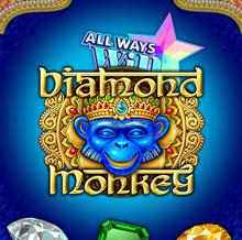 Diamond Monkey logo logo