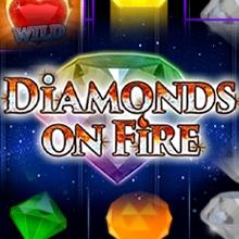 Diamonds on Fire logo logo