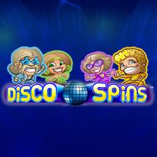 Disco Spins logo logo