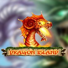 Dragon Island logo logo