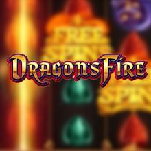 Dragon's Fire logo logo