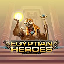 Egyptian Heroes logo logo