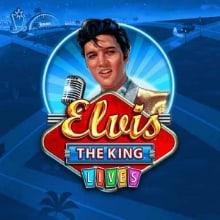 Elvis: The King Lives logo logo