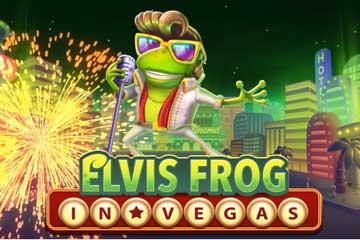 Elvis Frog in Vegas logo logo