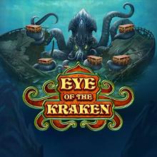 Eye of the Kraken logo logo