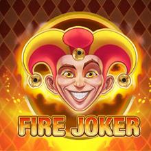 Fire Joker spel logo logo