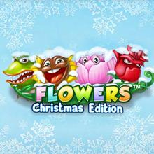 Flowers Christmas Edition logo logo
