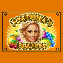 Fortuna's Fruits logo logo