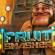 Fruit Smasher logo logo