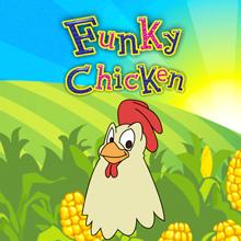 Funky Chicken logo logo