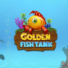 Golden Fish Tank logo logo