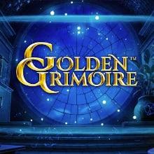 Golden Grimoire logo logo