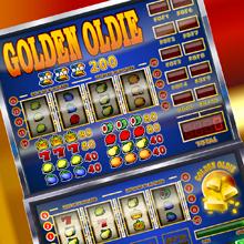 Golden Oldie logo logo