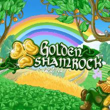 Golden Shamrock logo logo