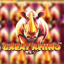 Great Rhino logo logo