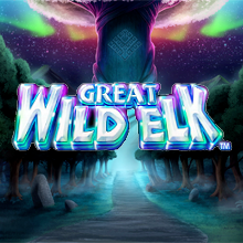 Great Wild Elk logo logo