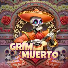 Grim Muerto logo logo