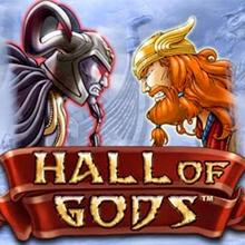 Hall of Gods logo logo