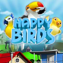 Happy Birds logo logo
