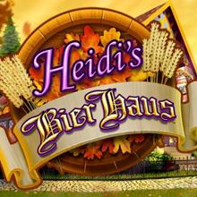 Heidi's Bier Haus logo logo