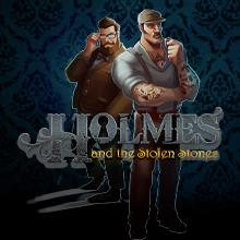 Holmes and the Stolen Stones logo logo