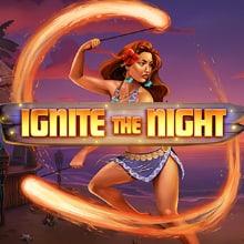 Ignite The Night logo logo